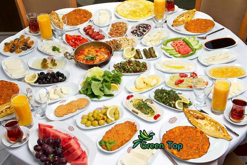 اكلات تركية