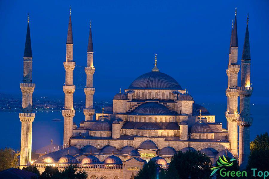 الجامع الأزرق في اسطنبول