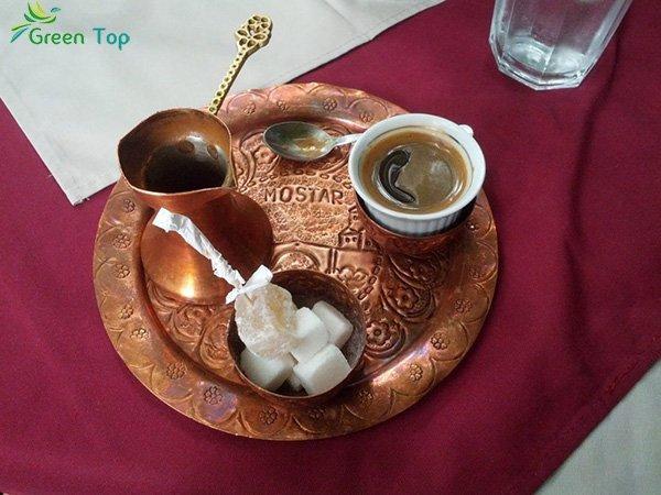 قم بتجربة القهوة البوسنية الشعبية