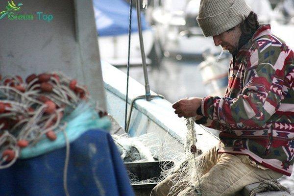 اصطياد الأسماك في البوسنة
