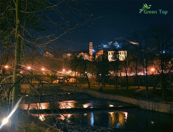 مدينة يايتسا وشلالات رائعة الجمال
