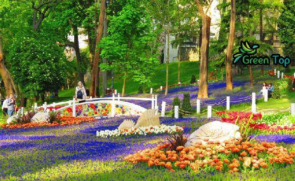 فى أسطنبول حديقة جولهانة