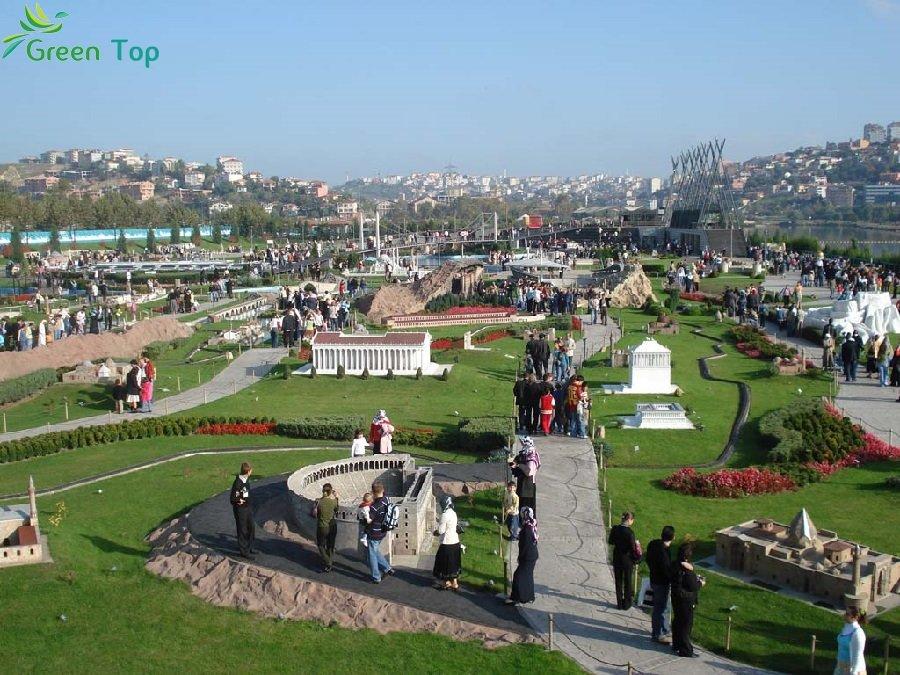 السفر الى اسطنبول وأفضل الأماكن السياحية هناك - الجامع الأزرق بإسطنبول(مسجد السلطان أحمد) -الصغري-اسطنبول