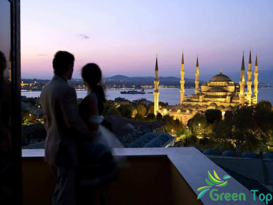 رحلة شهر عسل فى تركيا