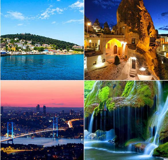 رحلة شهر عسل الى تركيا