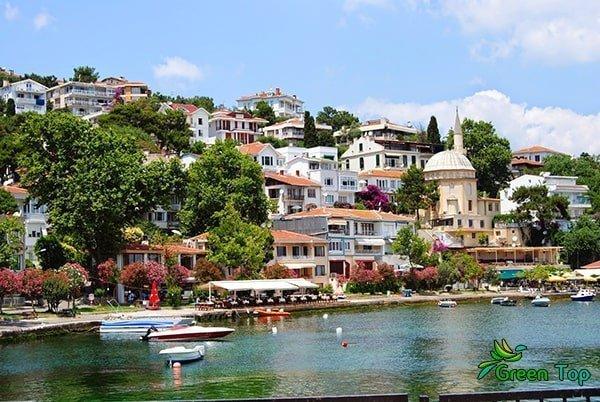 رحلة جزيرة الاميرات في تركيا