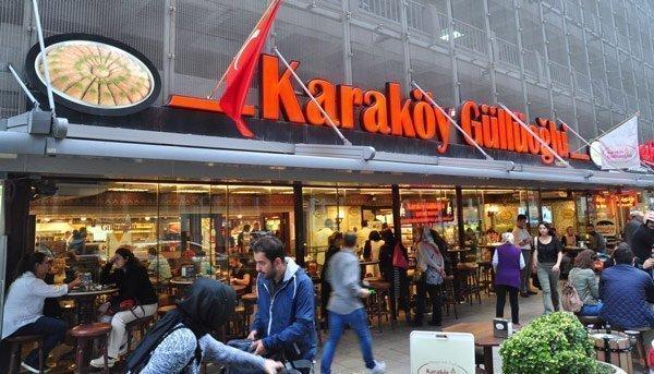 Karaköy Güllüoğlu Baklavacısı